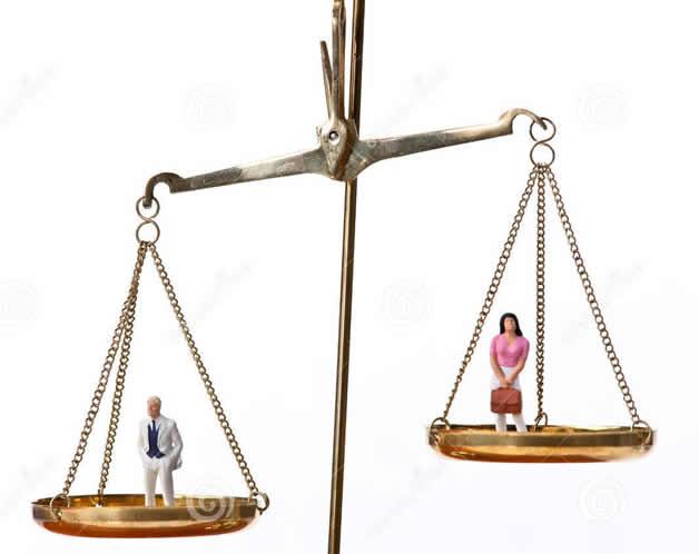 Les femmes gagnent 30% moins que les hommes!