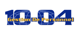 logo Gestion de personnel 10-04 inc.