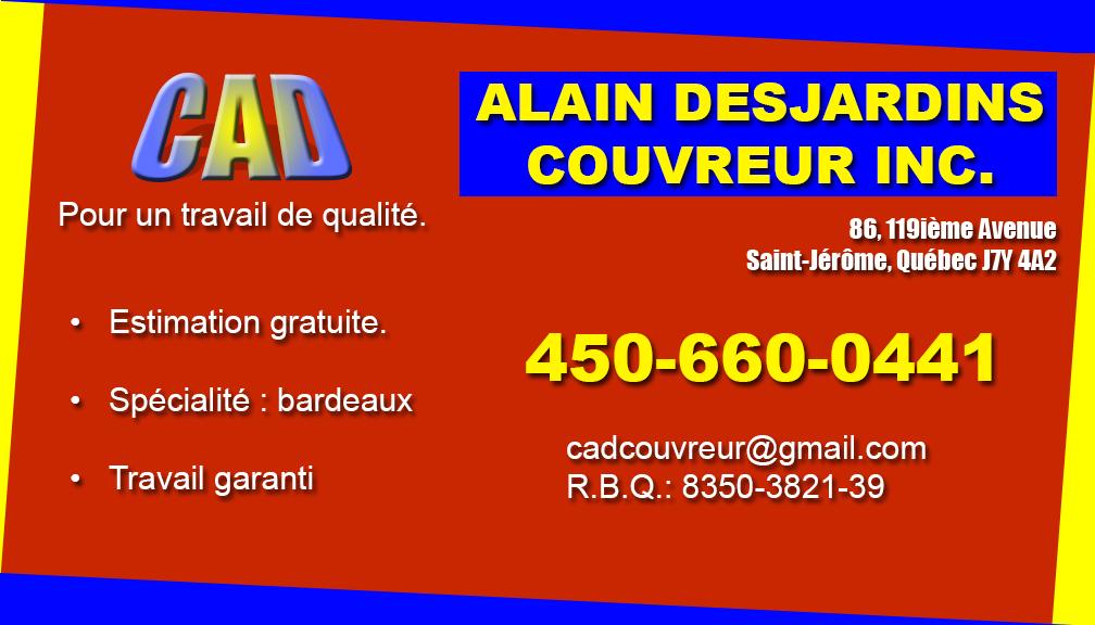 Alain Desjardins Couvreur Inc.
