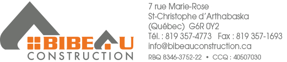 logo Bibeau Construction