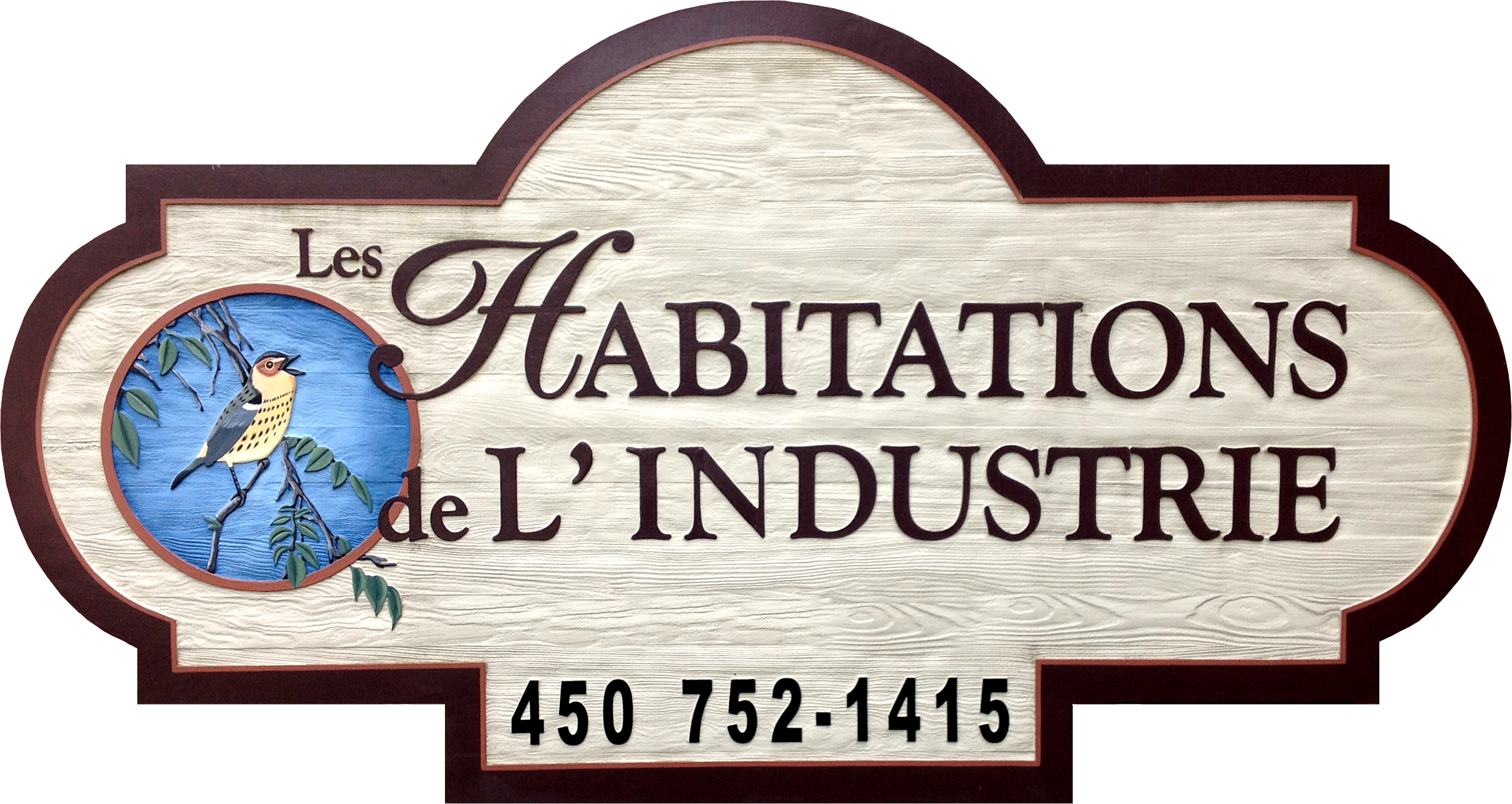logo LES HABITATIONS DE L'INDUSTRIE INC.