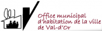 logo Office municipal d'habitation de la Ville de Val-d'Or
